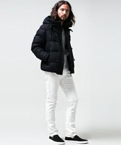 白パンツ 冬