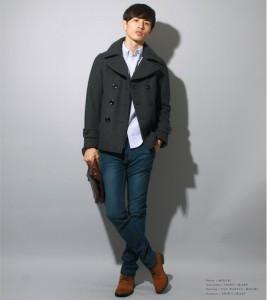 Pコートの中に着る 20代