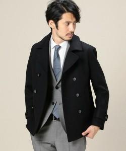 スーツ×Pコート