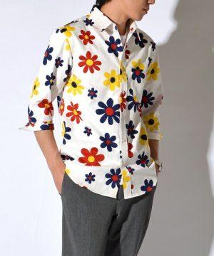 花柄シャツ メンズ