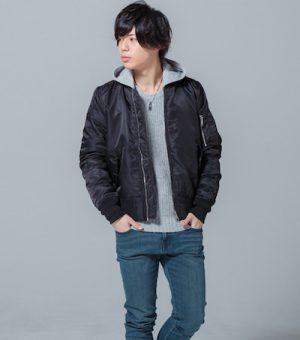 MA-1 高校生のメンズファッション