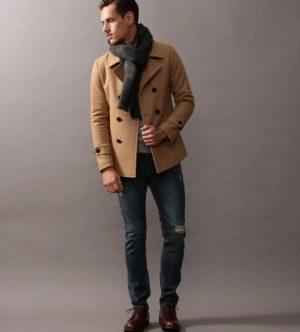 冬のメンズファッション マフラー