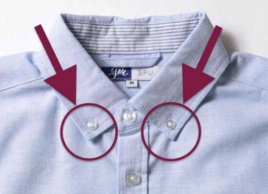 ボタンダウンシャツ 選び方
