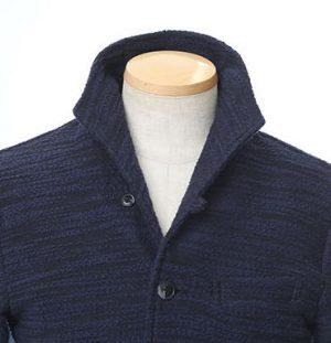 ジャケットの襟 おしゃれ