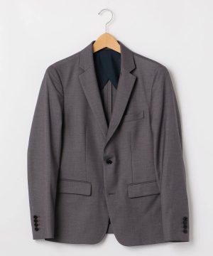 チャコールグレーのテーラードジャケット メンズ