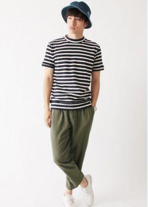 モックネック Tシャツ メンズ ブランド