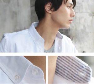 シャツの襟のデザイン